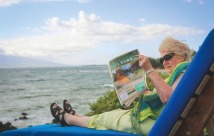 Editor Anne Boyd in Hawaii.