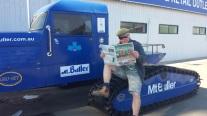 Reader Eddie Gray at Mt. Buller, Victoria.