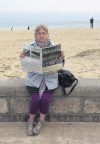 Writer Alice Collins in Williamstown