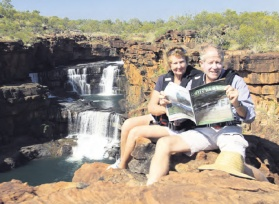 Our CFA reporter Graham Crichton and his wife in the Kimberley.