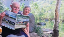 Helen and Bill Ireland in Kakadu