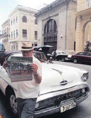 Ross Paul, our man 'Havana' great time in Havana