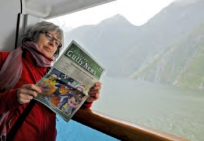 Photographer Barbara Oehring in New Zealand.