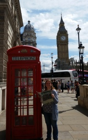 Website Manager Meg Hellyer in London.
