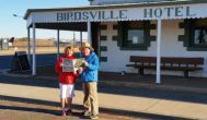 Sylvia and Graham Crichton (CFA), Birdsville Hotel QLD