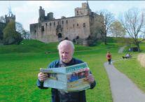 Reader Frank Quinn in Falkirk, Scotland.