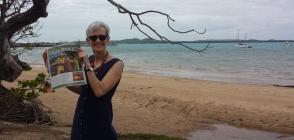 Writer Judy Wolff, Torres Strait.
