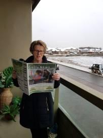 Reader Marie Madden Kitchener in Canada